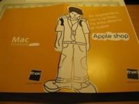 Esta es la invitación para el Apple Shop de Fnac Triangle