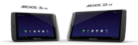 Los tablets Archos G9 con Android 3.2 ya están listos