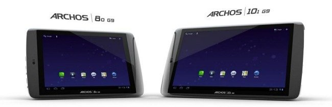 Archos G9 tablets android