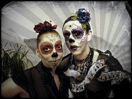 Maquillaje para Halloween: el día de los muertos