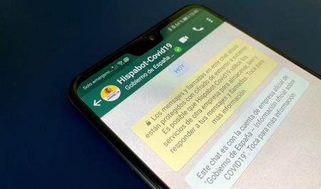 Probamos el bot oficial del Gobierno sobre el coronavirus en WhatsApp para Android: así funciona 'Hispabot-Covid19'