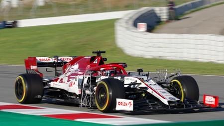 Kubica Barcelona F1 2020