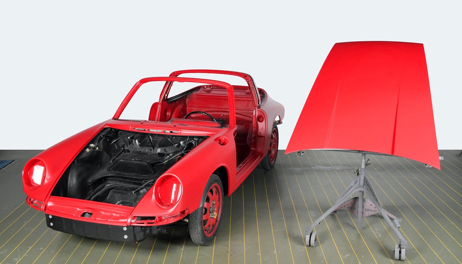 Foto de El Porsche 911 S Targa de 1967 restaurado por Porsche Classic (11/15)