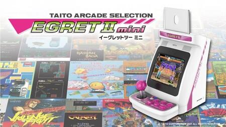 Así es la Taito Arcade Selection Egret II Mini, la nueva mini recreativa con 40 juegos y pantalla giratoria