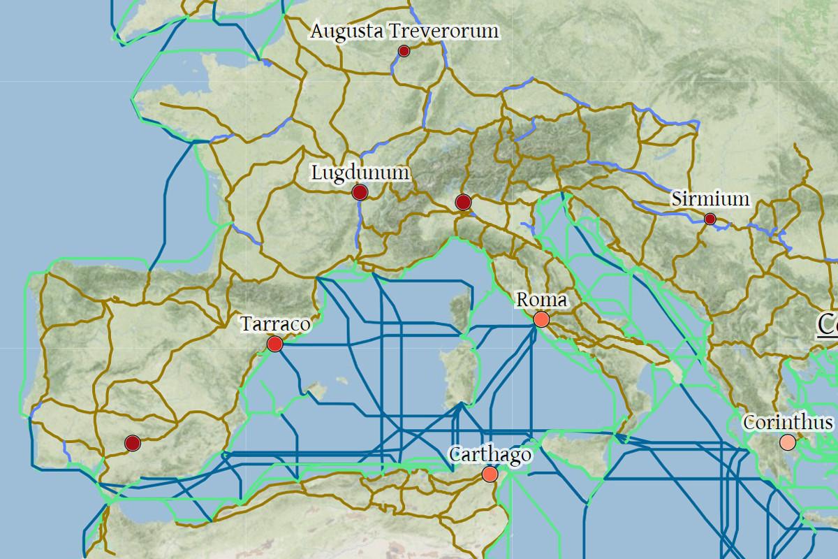 Mapa Interactivo Islas Baleares.Este Mapa Interactivo Te Permite Viajar Por El Imperio