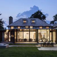 Espectacular renovación de una casa estilo Tudor de 1929