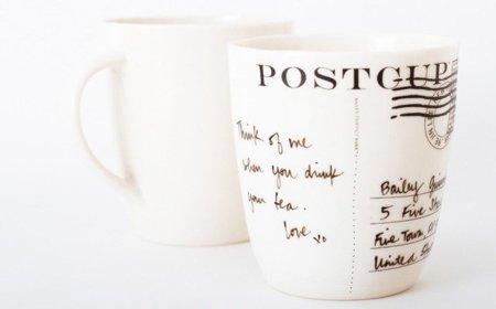 Taza postal para dejar tu mensaje