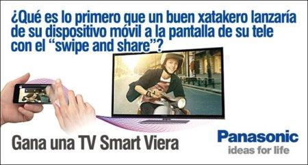 Una televisión Smart Viera de Panasonic te está esperando en nuestro Club