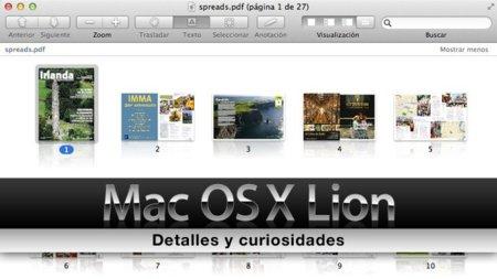 [Especial Mac OS X Lion] Primeras impresiones de la versión preliminar de Mac OS X 10.7 Lion, curiosidades (2ª parte)