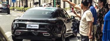Porsche Taycan se deja ver una vez más previo a su lanzamiento en septiembre