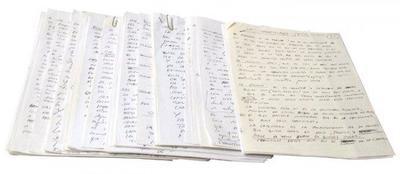 """El manuscrito original """"Los secretos de El Bulli"""" a subasta el 14 de mayo en Barcelona: de 8 euros a 20.000"""