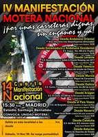 IV manifestación nacional motera el próximo 14 de noviembre en Madrid