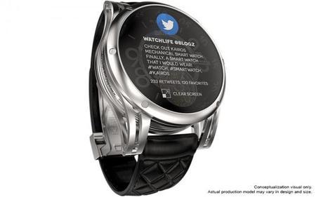 Kairos smartwatch, el primer smartwatch mecánico híbrido