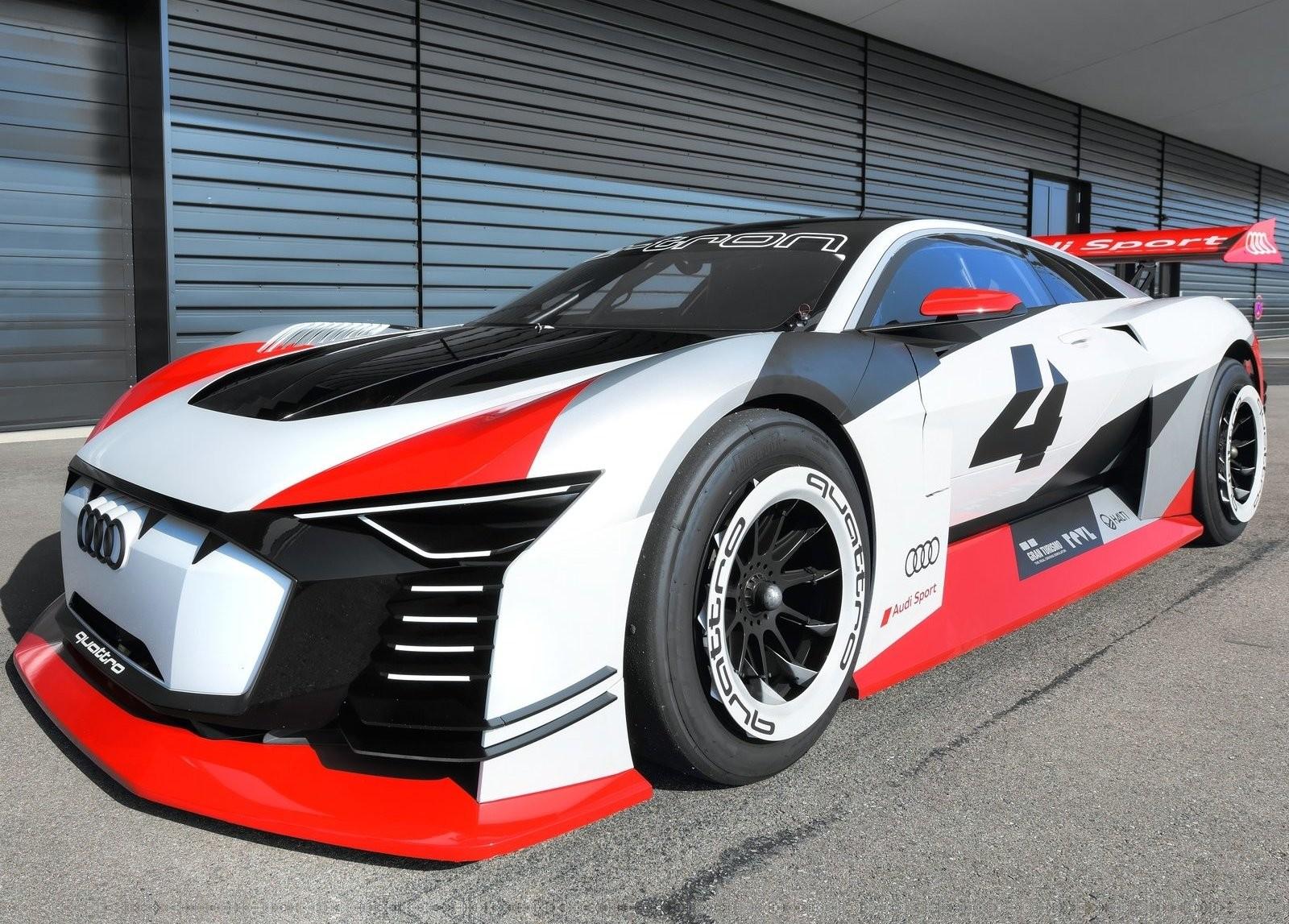 Foto de Audi e-tron Vision Gran Turismo Concept (5/12)