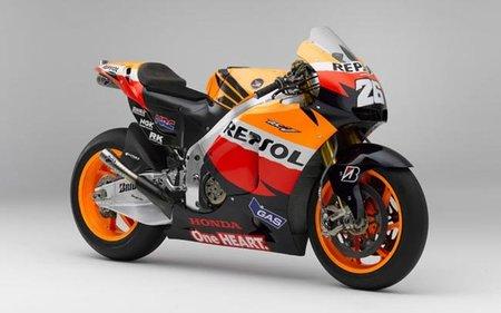 Ya rueda la Honda MotoGP 2012