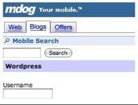 mDog, bloguea desde el móvil
