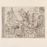"""Los """"Grabados eternos"""" de Picasso en el Centro Niemeyer de Avilés"""