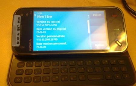 Nokia N97 Mini, ¿más que un rumor?