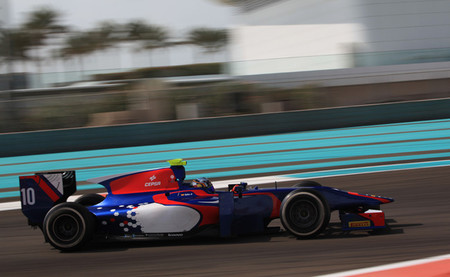 Carlos Sainz Jr Test GP2 Carlin