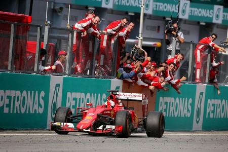 Vettel Malasia F1 2015
