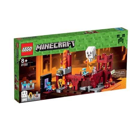 Lego Minecraft Fortalezad Del Infierno 2