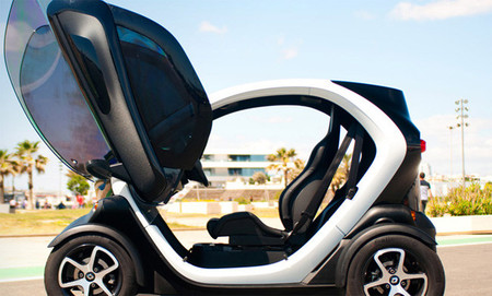 Renault Twizy RS Asientos