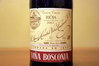 Viña Bosconia Reserva 2001