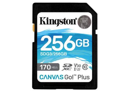 Kingston 256gb Sdxc Canvas Go Plus