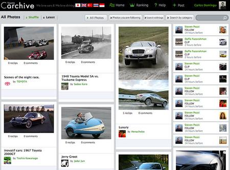 Toyota Carchive: el Pinterest de los coches