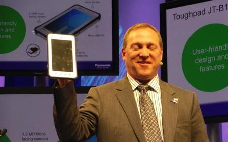 Panasonic lanza tablets Android y Windows 8 todoterreno.