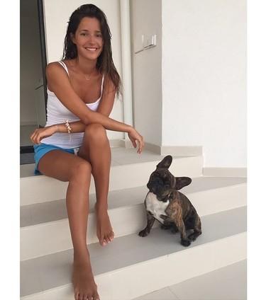 Malena Costa, otra que emigra por amor