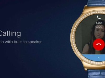 Huawei nos da un anticipo de cómo atenderemos llamadas en Android Wear con su nuevo reloj