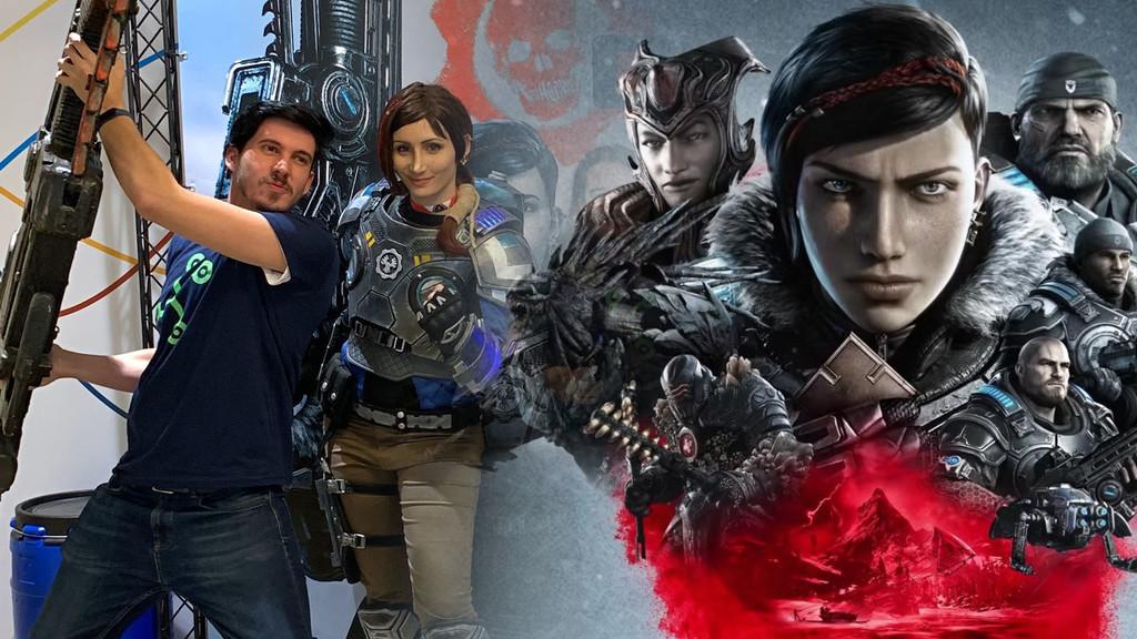Gears 5: primer torneo oficial en España contra 3DJuegos o IGN. ¡Menuda paliza!