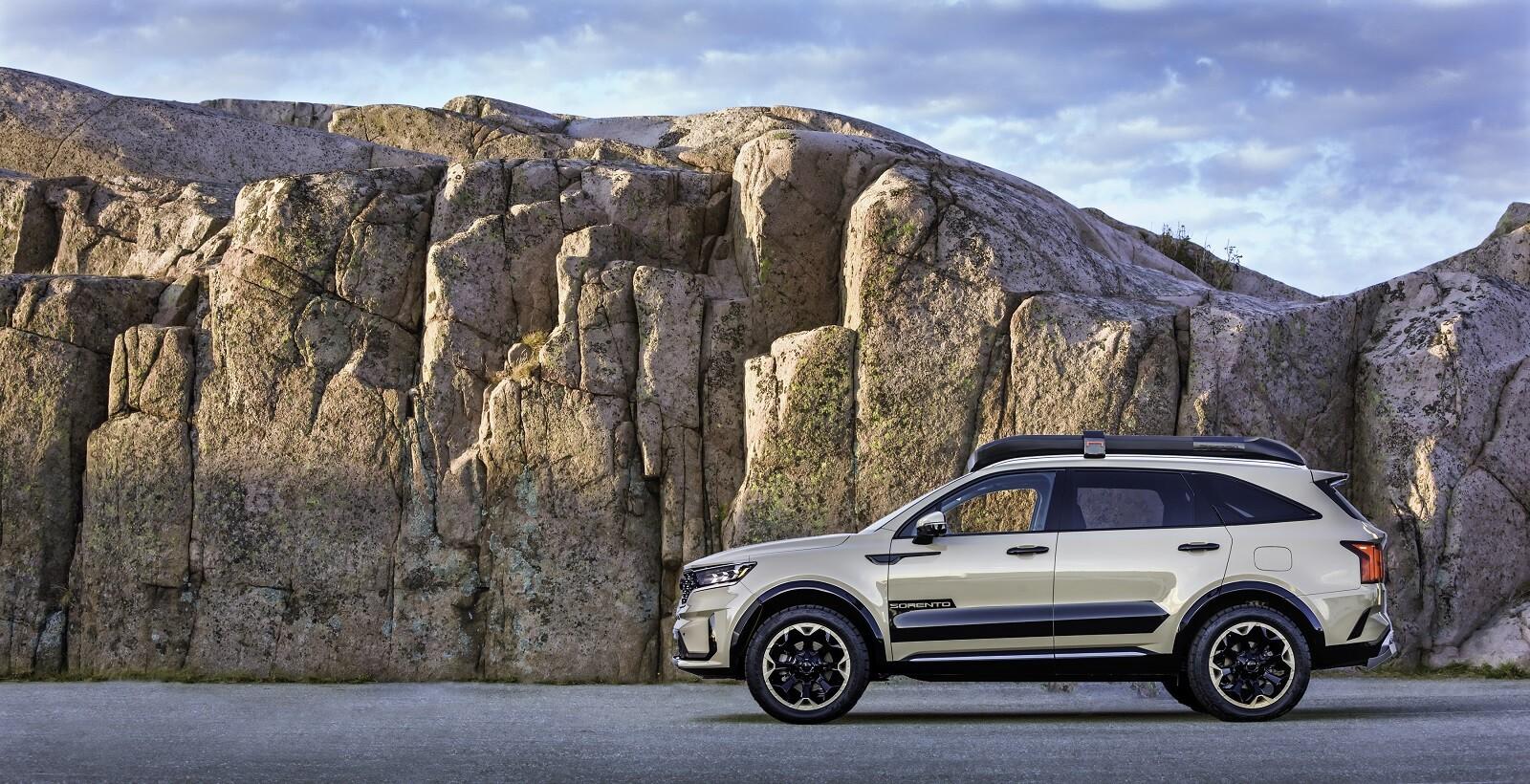 Foto de KIA Sorento X-Line Yosemite y Zion Edition (3/18)