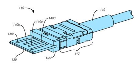 Apple patenta un conector USB reversible... justo como el que hemos visto en fotos