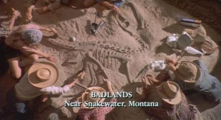 Jurassic World y Jurassic Park, pincel excavacion