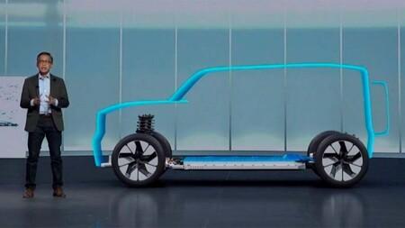 Ford Bronco silueta eléctrica