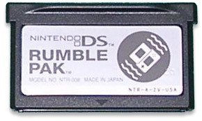 Rumble Pak DS: primeras imágenes