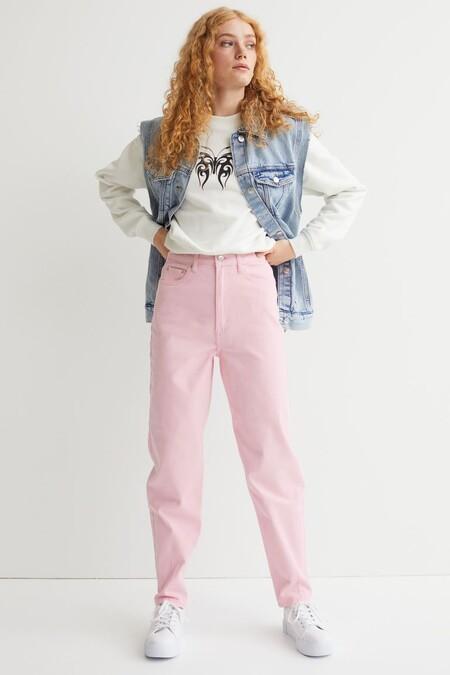 Pantalon Mom Loose Fit