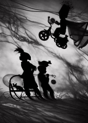 The Night Journey series, la misteriosa fotografía de siluetas de Susan Kae Grant