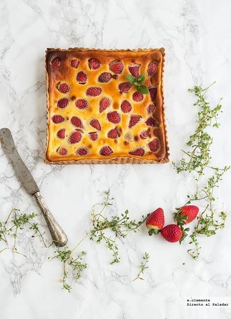 Tarta De Fresas Y Yogur
