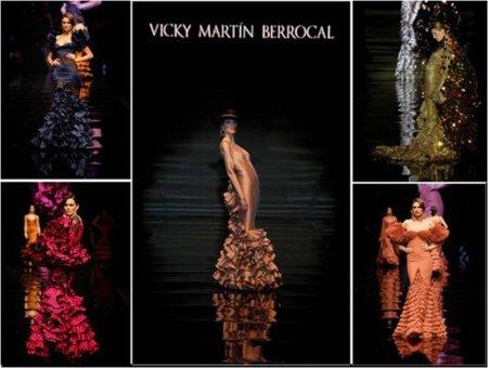 Moda flamenca: colección de Vicky Martín Berrocal