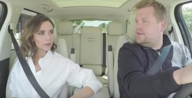Victoria Beckham da un giro de 180 grados a su carrera y se ríe con James Corden en una nueva entrega de su Carpool