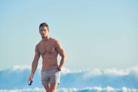David Gandy Marks And Spencer Spring Summer 2016 Beachwear 005