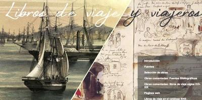 La Biblioteca Nacional de España abre un apartado digital de literatura de viajes