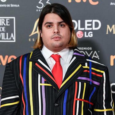 Brays Efe pone la nota de color la alfombra roja de los Premios Goya 2019