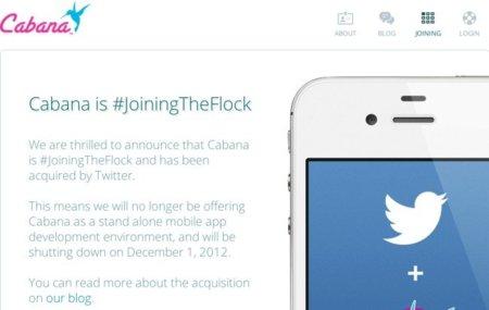 Twitter compra la empresa Cabana para mejorar la experiencia de desarrolladores