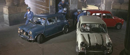Coches de película: Mini Cooper de The Italian Job