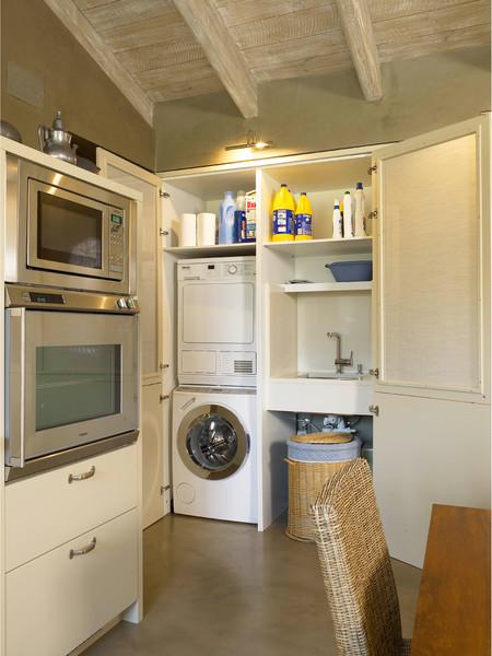 C mo integrar zona de lavado y planchado en la cocina for Mobiliario lavadero
