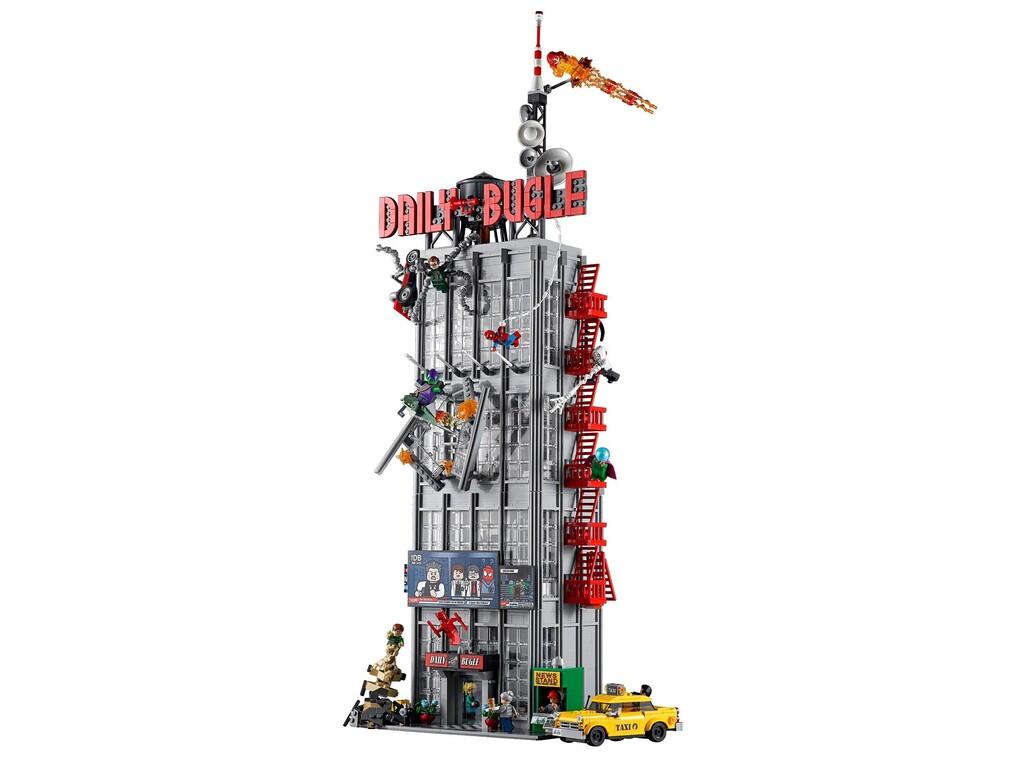 Nuevo set LEGO de Spider-Man: el edificio de El Clarín es el set más grande de Marvel hasta ahora, precio y disponibilidad en México